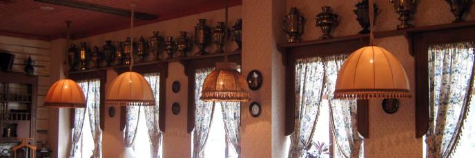 светильники ресторан Гости